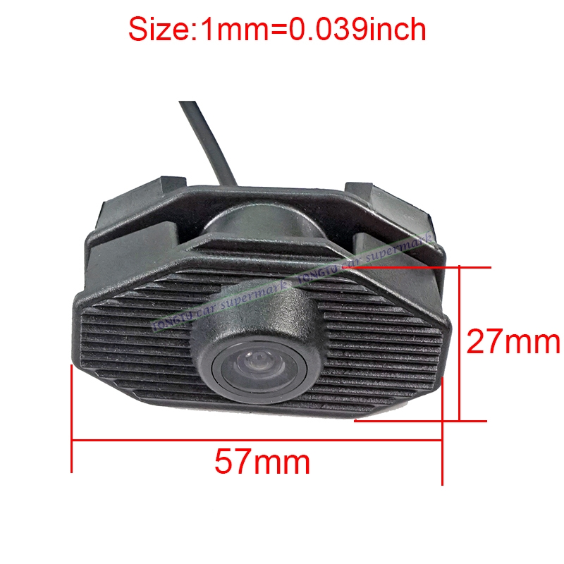 CCD Car front view font b camera b font for Subaru Forester 2013 2014 front grille