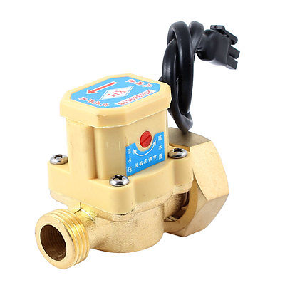 1/2 PT Male Thread 90W Power Electric Pressure Flow Switch for Water Pump 13mm male thread pressure relief valve for air compressor