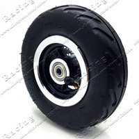 6 Inch 6X2 Wheels Set Tire With Inner Tube Fit For Electric Scooter Wheel Chair Truck