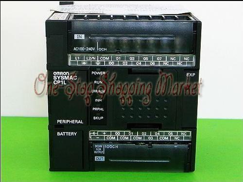 New Original input 6 point relay output 4 point PLC Module CP1L-L10DR-D 24VDC