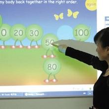 Отличное школьное оборудование сенсорная портативная интерактивная доска распознавание жестов интерактивная доска для электронного обучения
