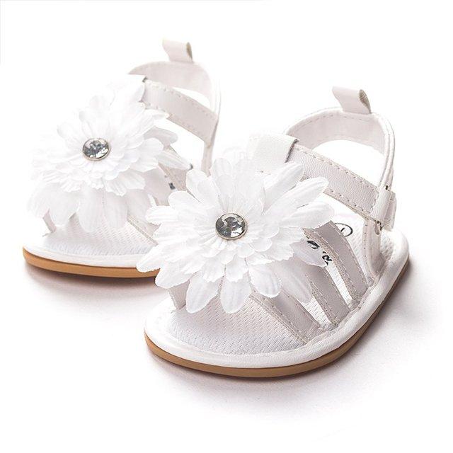 Лето Милый Ребенок Девушки Сандалии Принцесса Цветы Малышей Детская Обувь Ребенка Малыша Обувь Дети Малышей Сандалии