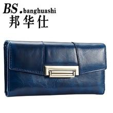 Long section brand-name luxury brand Ms. Wallet Ms. Card Wallet wallet handbag Walet purse wallet pocket tile