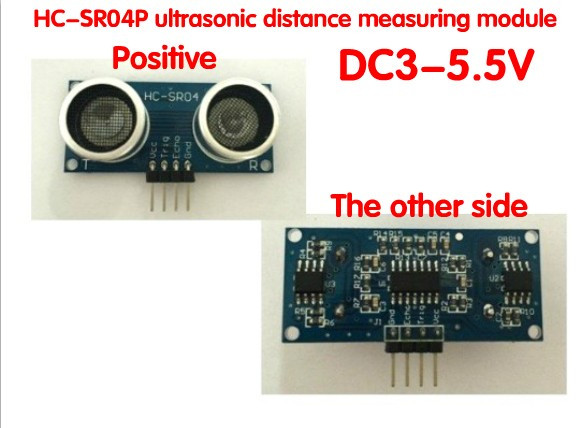 5PCS Ultrasonic Module HC-SR04P Sonar Distance Measuring Sensor for Arduino