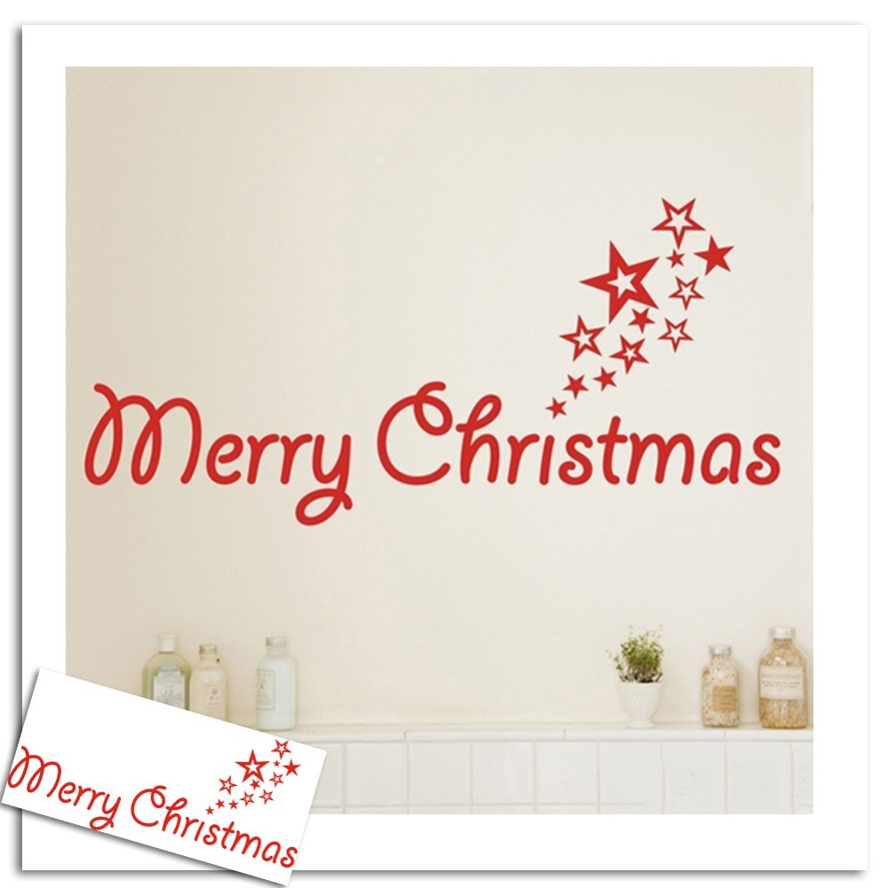 popular quote wall sticker buy cheap quote wall sticker lots from lettering merry christmas quotes wall stickers star love wall decal vinyl mural art poster wall sticker