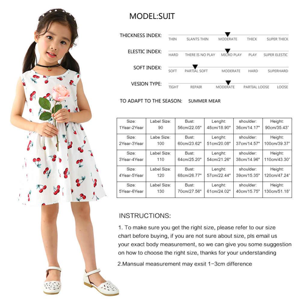 Dropship Bayi Gadis Gaun Musim Panas Tanpa Lengan Backless Berry Anak Pesta Putri Gaun untuk Gadis Pesta Pakaian Anak Pakaian