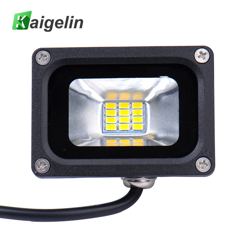 Hot Menjual 12V 10W Waterproof IP65 LED Banjir Cahaya Lampu Sorot Landscape Luar Flood Light Lampu Penerangan Taman Persegi