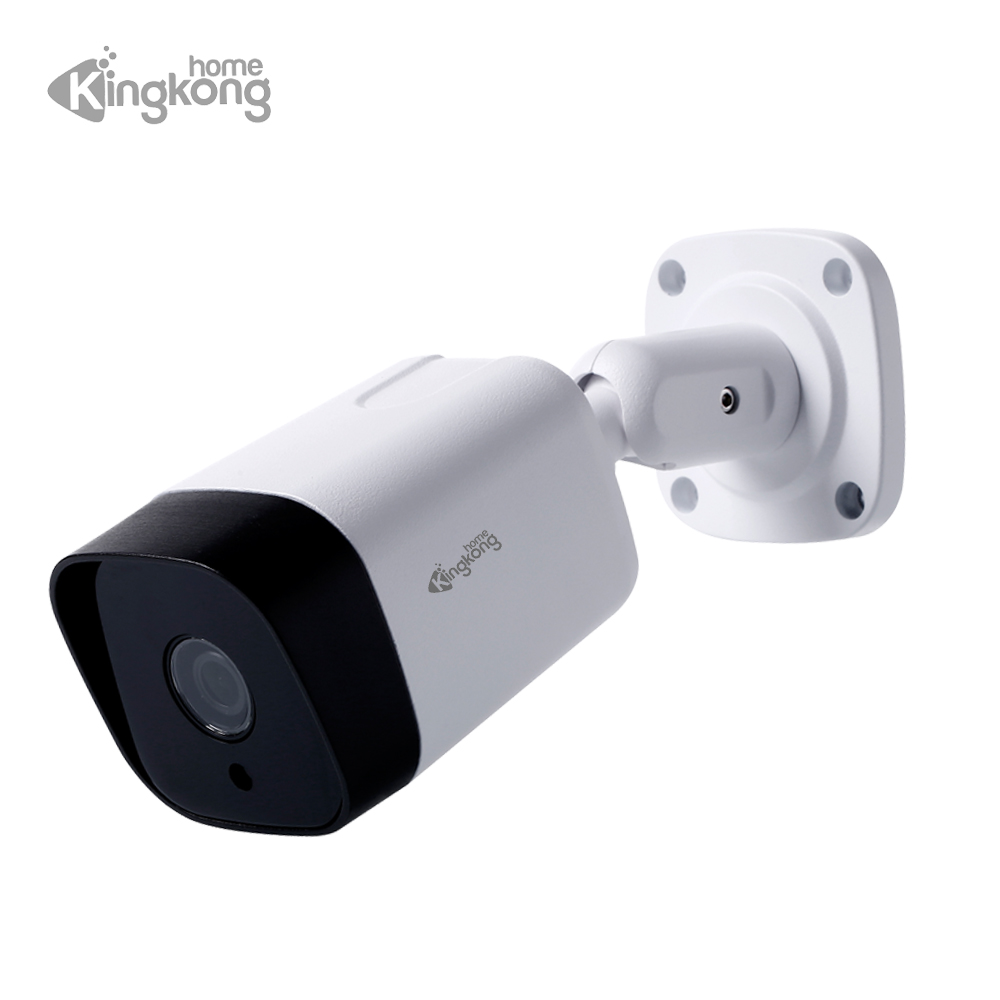 Kingkonghome H.265 1080P IP Camera POE 2.8 lens ip cctv camera Surveillance outdoor Waterproof Bullet cam