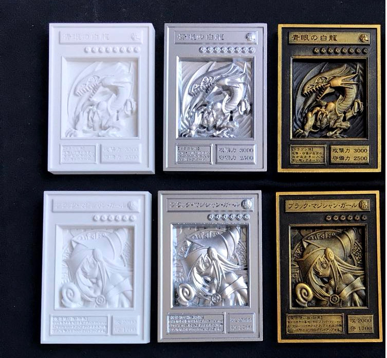 YU GI OH Gold Card Metal Card Local Japan Golden Eye White Dragon VOL Edition Collection Card Boys Girls Toys Gifts