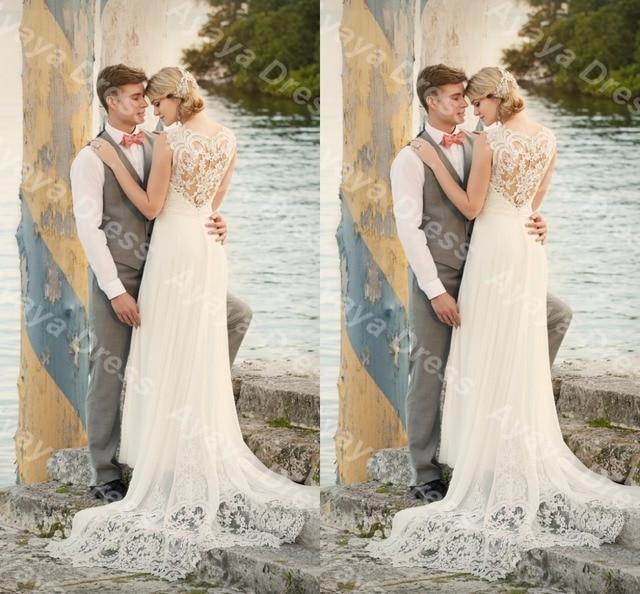 wejanedress sweetheart opacidad volver vestido de boda del cabo de