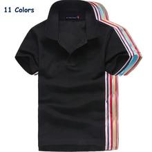 Лето, Брендовые женские рубашки поло с коротким рукавом, одноцветные женские рубашки поло с отворотом, Хлопковые женские облегающие Топы
