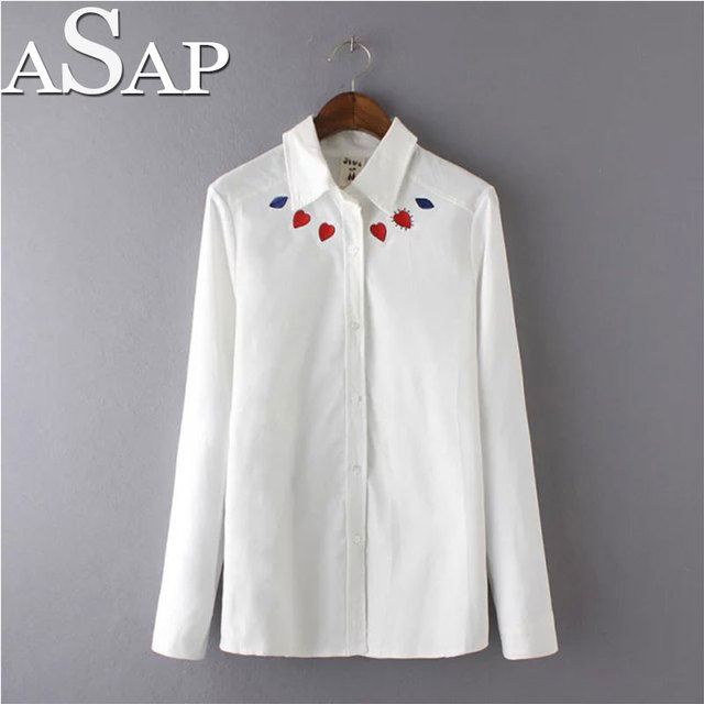 Asap para Mujer de la Mujer Blusas blancas Camisas