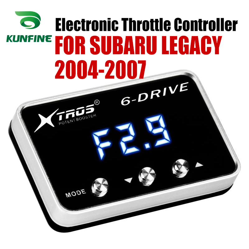 Car Electronic Throttle Controller Racing Accelerator Potent Booster For SUBARU LEGACY 2004-2007  Tuning Parts Accessory