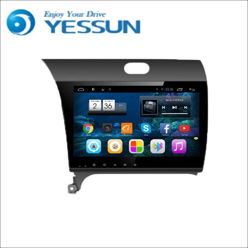 10 2 Android Car Radio GPS Navigation System For Kia K3 2013 + Multimedia Audio