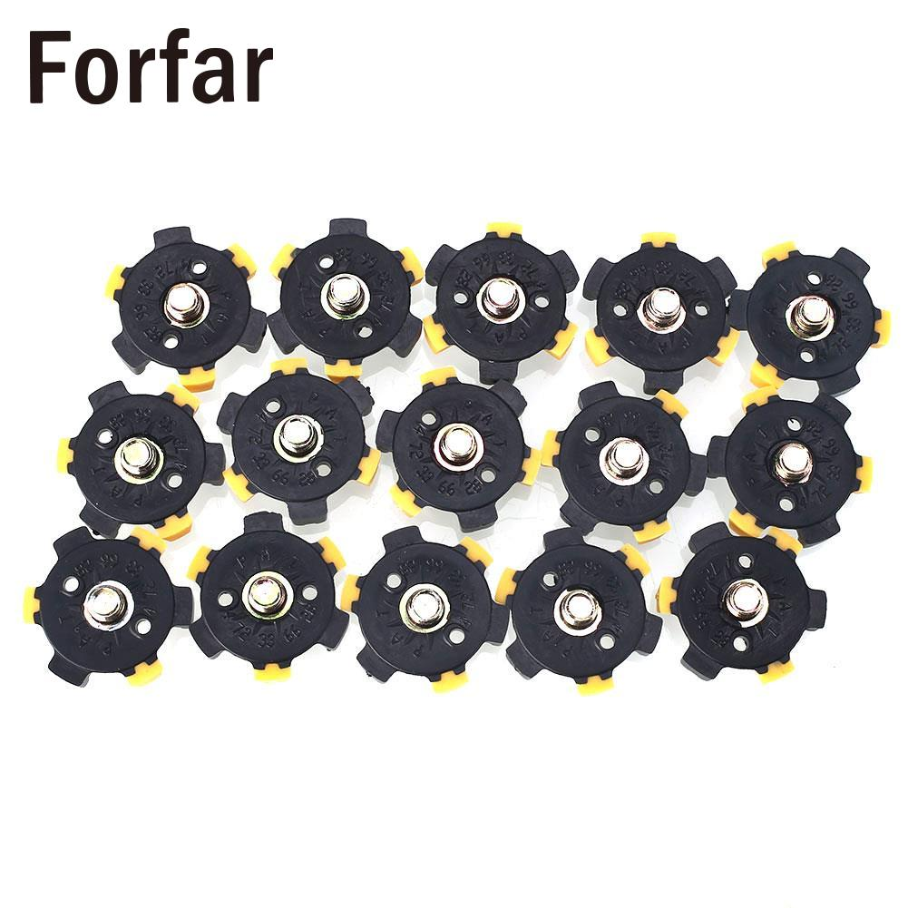 14Pcs Golf Shoe Spikes Sports Replacement Champ Cleat Screw Twist Foot* ...