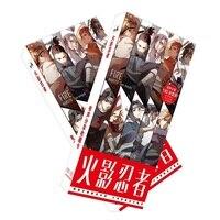 180 шт./компл. японская аниме Наруто открытка/поздравительная открытка/рождественские и новогодние подарки