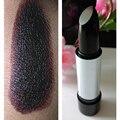 Marca hidratación duradera impermeable lápiz labial lápiz labial mate vampiro sexy lady negro púrpura oscuro HF-01