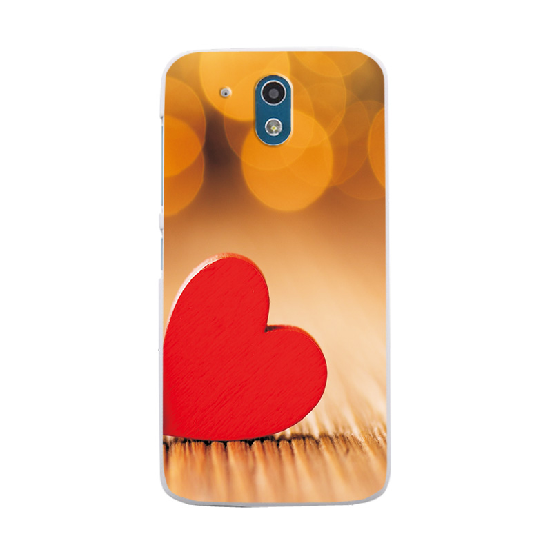 Silicone Case Cover For HTC 526 Love Heart Phone Bags 1