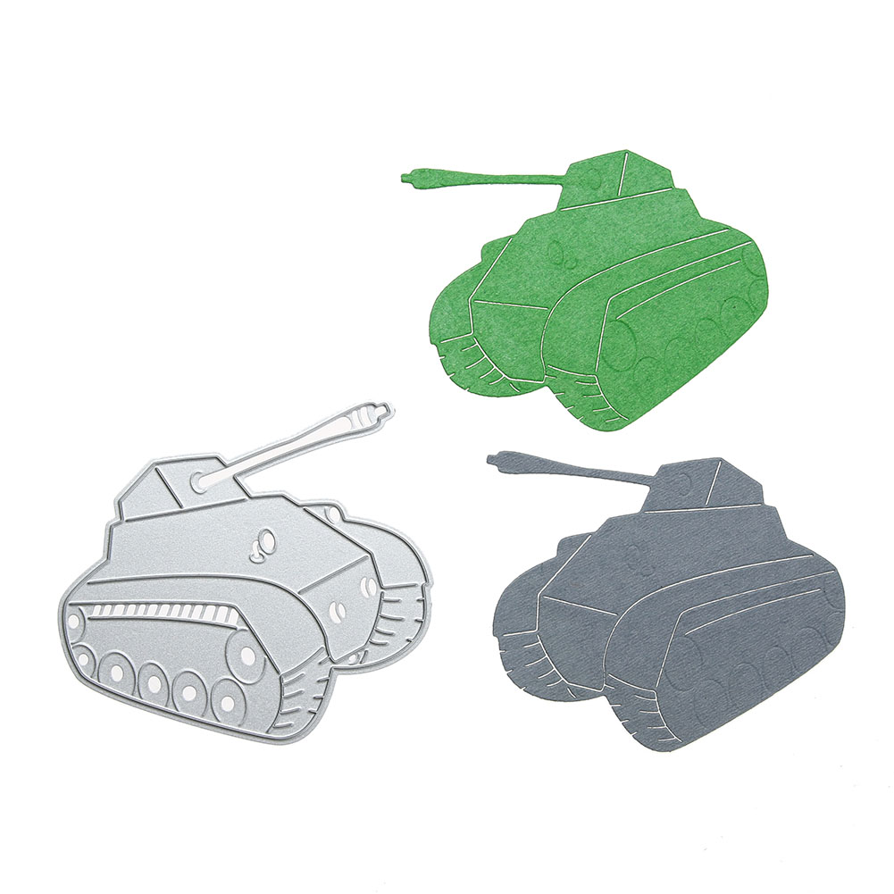 Army Tank Metal Cutting Dies DIY Scrapbooking Craft Dies For Cards Cutting Dies Scrapbooking Embossing Folder