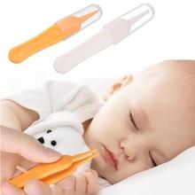 2 шт./лот, безопасный Пинцет для чистки ушей для детей, пинцет для чистки пупка, грязи, пинцет для младенцев, ежедневный уход за ребенком
