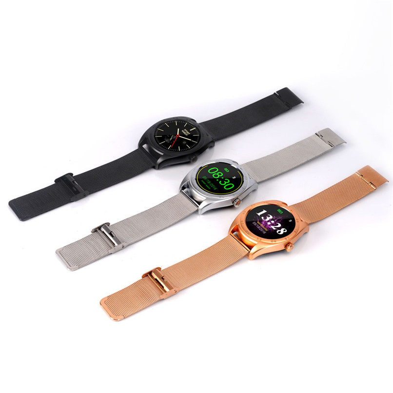 New Arrivals Bluetooth Wireless Pedometer Heart Rate Smart Watches For IOS Android Free Shipping NOM15