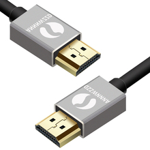 Ultra High Speed HDMI cable 0.5m 1m with ethernet HDMI 1.4 2.0 Professional 4K 3D 1080p Full HD Audio Return Channel 24k Gold braided ultra hd hdmi cable v2 0 high speed ethernet hdtv 2160p 4k 3d gold 1m