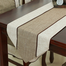 Modernen Minimalistischen Stil Retro Tuch Tischläufer Neue Chinesische Klassische Couchtisch Flagge Solide Tisch Matte