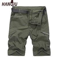 Cargo Shorts Men No Belt