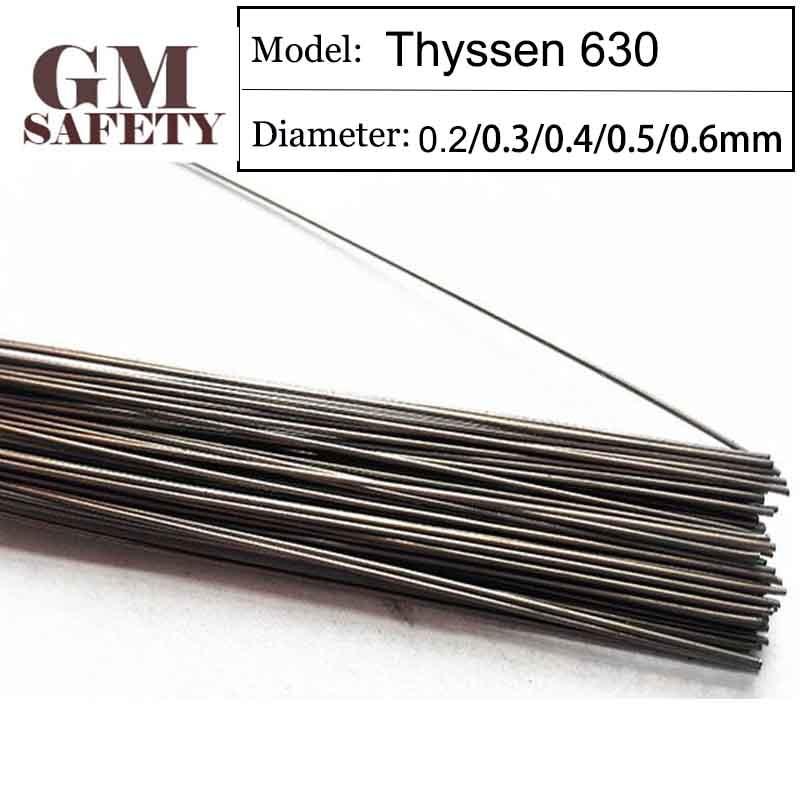 GM пластмасс лазерной сварки проволоки Тиссен 630 0,2/0,3/0,4/0,5/0,6 мм заполнитель ремонт литья провода GML0419