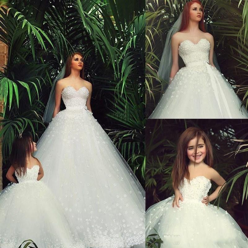 Online Buy Wholesale Mother Daughter Wedding Dresses From