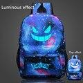 2016 hot selling  famous Pokemon Go Backpack Pokemon Gengar Backpacks School Bags For Teenager Girls Mochila
