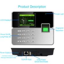 цена на Attendance Control System Biometric Fingerprint Time Attendance System TCPIP USB Reader Time Recorder Clock Employee Machine
