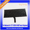 "New Genuine French Keyboard For Macbook Air 13"" A1369 2011 A1466 2012-2015"
