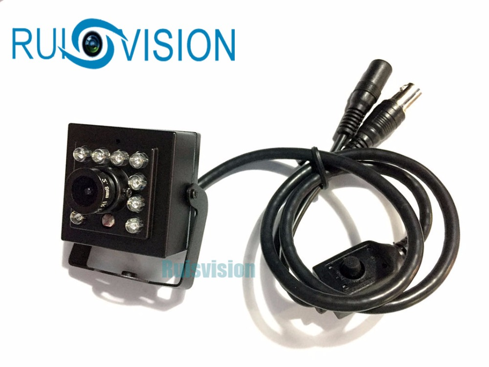 HD 1/3SONY 800TVI CCD Mini CCTV IN Security Surveillance camera with osd for Home MINI night vision Video Camera free shipping 1 3 ccd waterproof surveillance security camera with 42 led night vision white dc 12v
