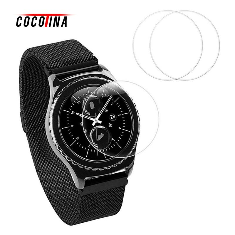 COCOTINA Tempered Glass Film Screen Protector for Samsung Gear S3 Classic/Frontier LSB01115 tempered glass film for samsung a5