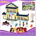 Compatible Legoe Amigos Figuras Heartlake Secundaria 41005 Ladrillos de Construcción BELA 10166 Emma Mia Juguetes Para Los Niños