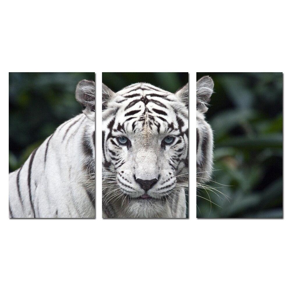 Achetez en gros blanc tigre toile en ligne des - Impression photo gratuite sans frais de port ...