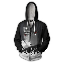 2018 New Arrivals Naruto Uchiha Itachi 3d Print Zip Hoodie Sweatshirt Anime Characters Mens Hoodies And Sweatshirts