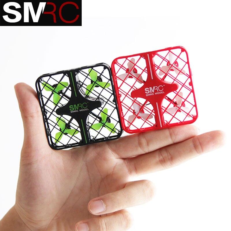 Nouveau Produit SMRC M8HS mini drones avec caméra hd maintien d'altitude rc helicoptero de controle remoto profissional fpv quadrocopter
