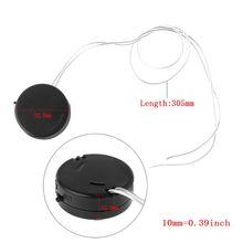 2 Chiếc Tế Bào Nút Pin Adapter Mini Có Dây Trên Tắt/Mở Dẫn CR2032 Hộp Bảo Quản