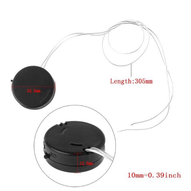 2 pièces bouton cellule support de batterie Mini adaptateur avec fil interrupteur marche/arrêt conduit CR2032 boîte de rangement