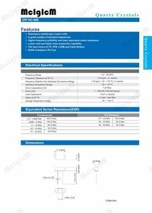 Image 3 - 1000pcs hc 49s 12.288MHz 20ppm 20pF quartz resonator