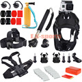 For Gopro Hero 4 Session Kit Dog Harness Head chest Floaty Handle Grip Selfie Stick for GoPro Hero 4 3+ 3 2