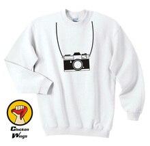 Camera Photographer Photo Hobby Analog Retro Vintage Cool Top Crewneck Sweatshirt Unisex More Colors XS – 2XL