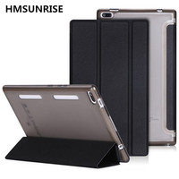 Hmsunrise Case For Lenovo Tab4 Ultra Thin Folio Flip Cover For Lenovo Tab 4 8 TB