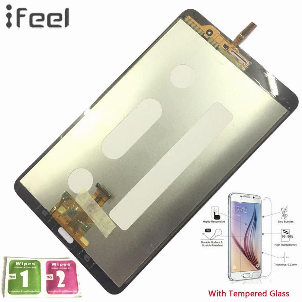 IFEEL 100% D'essai Panneau De Réparation Pour Samsung GALAXY Tab Pro 8.4 T320 T321 T325 Capteurs D'écran Tactile D'affichage à CRISTAUX LIQUIDES numériseur