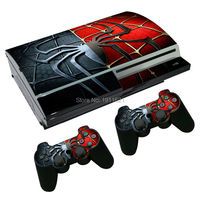 OSTSTICKER New Style Matt Skin For Sony Playstation 3 PS3 Fat Sticker Wrap Decal Cover Accessory Decal stickers For PS3 Console