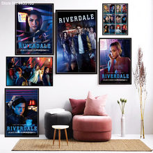 Riverdale Movie Poster Hot New Movie Posters and Prints Wall Art Picture Canvas Painting Decoration for Living Room Home Decor(China)