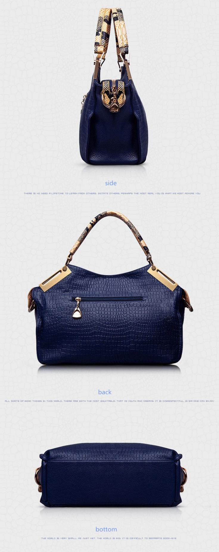 56eab67d356 Detail Feedback Questions about 2018 New ashion women handbag ...