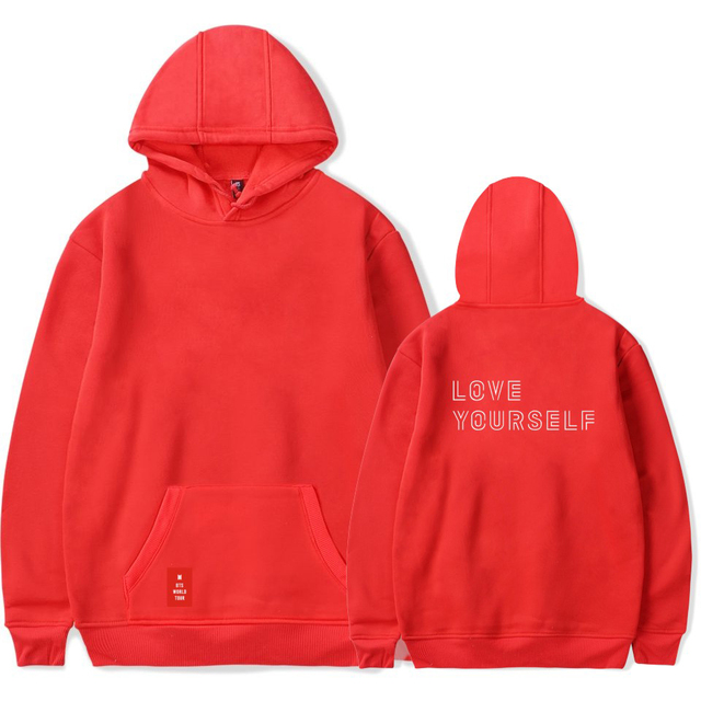 BTS LOVE YOURSELF WORLD TOUR HOODIE (12 VARIAN)